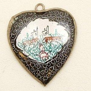 Mina Kara Deer Heart Pendant