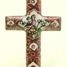 Brown Mina Kari Cross with Bird