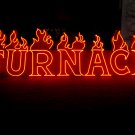 Vintage 1980's THE FURNACE Neon Sign / Antique collectible NIGHTCLUB / Mancave