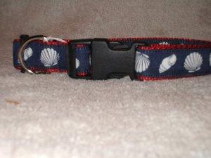 SeaShells Dog Collar