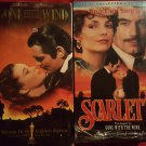 """Gone with the Wind"" & ""Scarlett"" VHS Tapes, 2 tape sets"