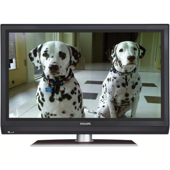 """Philips 42"""" Widescreen 1080p HDTV LCD TV with Perfect Pixel HD and Ambilight 2 Channel"""