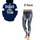 New  Dallas Cowboys  Hoodie/ Legging 2-Pack  Football Team Sport