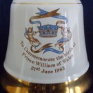 PRINCE WILLIAM | 1982 Royal Birth | Porcelain Decanter | WADE | Bells Whiskey