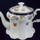 Small Vintage Bavarian Teapot 11 cm high 11 cm Base. Number 60 No other Marks