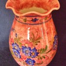 "Vintage Greek Island Studio Art Pottery Vase Hand Thrown & Decorated 7 1/2 "" 9cm"