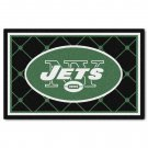 NFL New York Jets Nylon Face 4'X6' Plush Rug