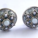 Vintage Michal Golan Clip Earrings