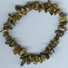 Genuine Tiger Eye Freeform Bracelet