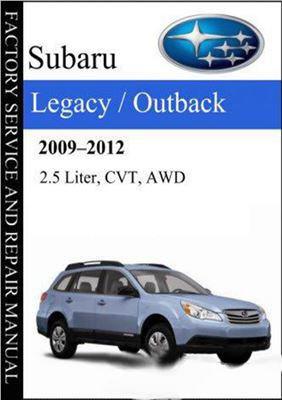 1998 subaru legacy outback service manual pdf