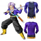 Dragon Ball Z Future Trunks Men's Fitted Long Sleeve T-Shirt