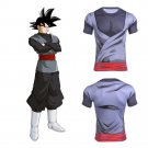 Dragon Ball Super Black Goku Men's Fitted Short Sleeve T-Shirt