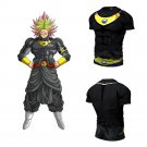 Dragon Ball Super Black Broly Men's Fitted Short Sleeve T-Shirt