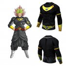 Dragon Ball Super Black Broly Men's Fitted Long Sleeve T-Shirt