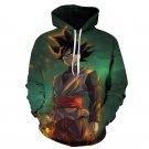 Goku Black Dragon Ball Super Saiyan All Over Printed Hoodies Jacket Sweater