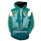 Miami Dolphins NFL All Over Printed Hoodies Sweater