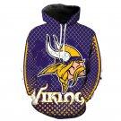 Minnesota Vikings NFL All Over Printed Hoodies Sweater