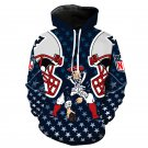 New England Patriots NFL All Over Printed Hoodies Sweater