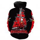 Tampa Bay Buccaneers NFL All Over Printed Hoodies Sweater