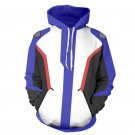 Overwatch Soldier 76 All Over Printed Hoodies Sweater