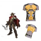 Overwatch McRee Men's Fitted Short Sleeve T-Shirt