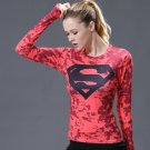 Superman Women's Fitted Long Sleeve T-Shirt