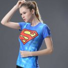Superman Women's Fitted Short Sleeve T-Shirt