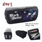 Black Butler Large Capacity School Pencil Stationery Case