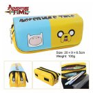 Adventure Time Jake & Finn Large Capacity School Pencil Stationery Case