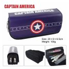 Captain America Large Capacity School Pencil Stationery Case
