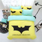 Batman Arkham Origins Full Size 4 Pcs Duvet Cover Bed Bedding Set