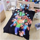 Minecraft Creeper Twin Size 3 Pcs Duvet Cover Bed Bedding Set