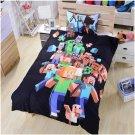 Minecraft Creeper Queen Size 4 Pcs Duvet Cover Bed Bedding Set