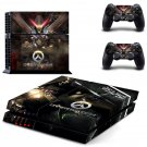 Overwatch Reaper Playstation Ps4 Decal Sticker