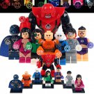 Lanterns several 8pc set characters as pictured Lego compatible minifigures