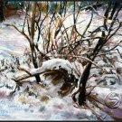 Elizabeth's Rabbit Recluse Landscape Art Prints Seasonal Winter Decor