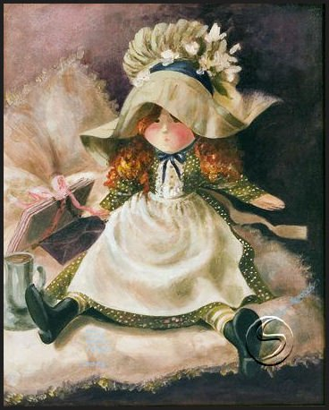 AMY & THE NOTES Doll Toy Gallery Art 5 Glossy Note Cards