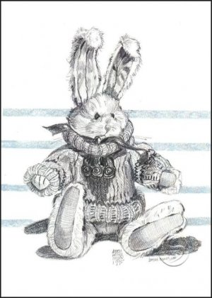 """Boyd's Bears Rabbit Doll Toy Art Prints Wall Hanging Home Decor 12""""x16"""" Posters"""