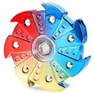 Fidget Spinners Rainbow Wheel Relieves Stress Hand Spinner EDC For Adult Kid