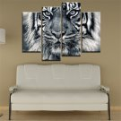 Frameless Huge Wall Art Oil Painting On Canvas Tiger Face Home Decor