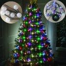 Christmas Tree 64 Lights Decor Hanging Tree LED Multi-Colored Stackable Lights--UK Plug