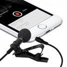 Mini 3.5mm Microphone Lavalier Tie Clip Microphones Microfono Mic