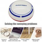 Automatic USB Rechargeable Smart Robot Vacuum Floor Cleaner Sweeping Suction  White