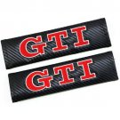 Carbon Fiber Seat Belts Cover For Adult Shoulders Pad Car Styling GTI