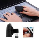 Mini Finger Mouse Wireless Bluetooth USB Optical Ring Mice for Laptop PC Wired