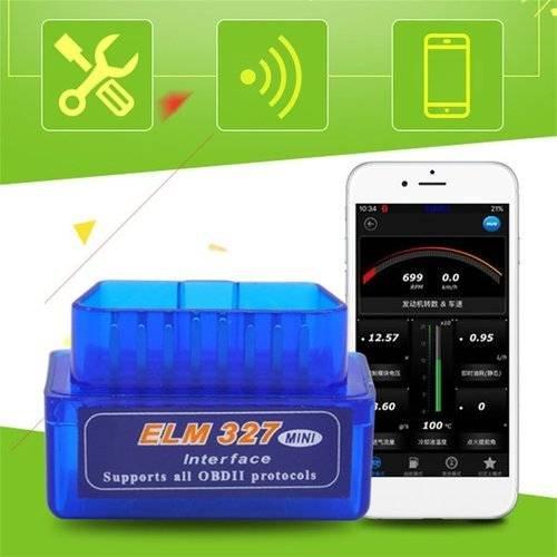 Mini ELM327 OBD2 II Bluetooth Car Diagnostic Tool Portable Auto Scanner