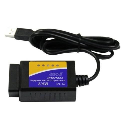 V04HU-1 Vehicle Car Diagnostic Scanner Code Reader USB Interface Support OBDII