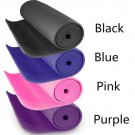 Yoga Mat Exercise Pad 6MM Thick Non-slip Gym Fitness Pilates Supplies Blue