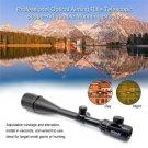 Professional Optical Aiming Rifle Telescopic Scope+Adjustable Mounting Bracket
