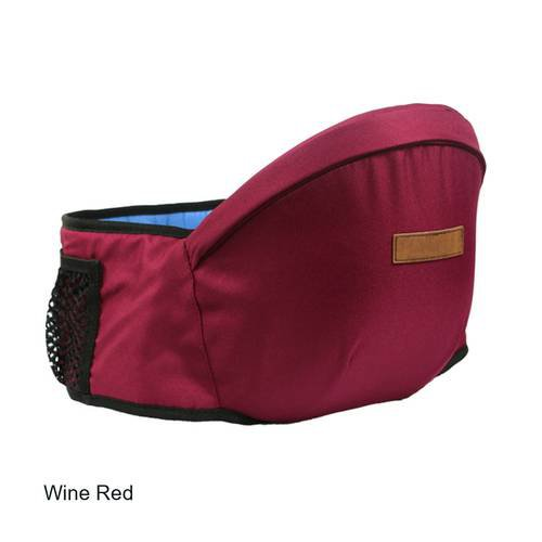 Waistband With baby seat Baby Carrier High Quality Baby Sling Infant Hip seat  Wine Red